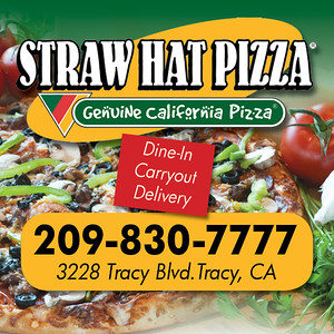 Straw Hat 2x2 Magnet