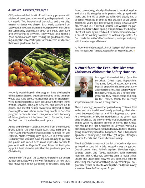 Evana Network Newsletter Page 2