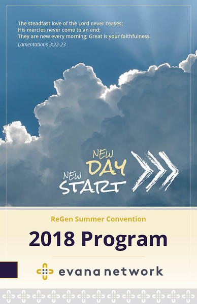 ReGen Event Program Cover