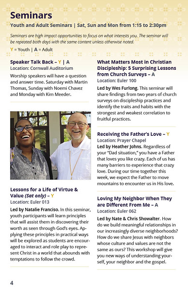 ReGen Event Program Page 6