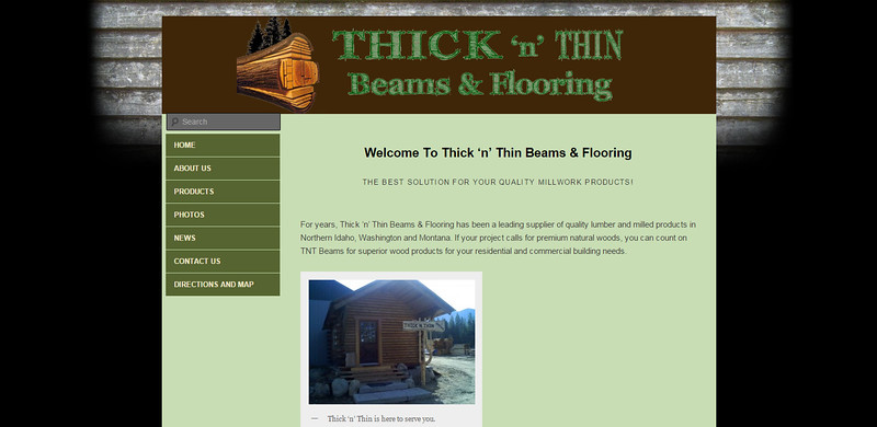 Thick n Thin Beams and Flooring