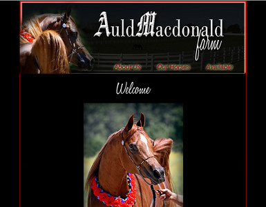 New website August 2010! http://www.auldmacdonaldfarm.net
