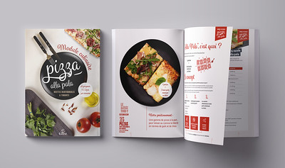 Compass Group's pizza recipes booklet