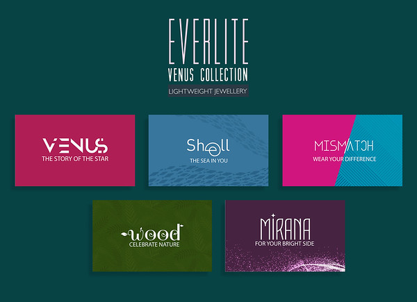EVERLITE COLLECTION: Logos for sub categories