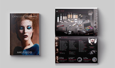 Make Up For Ever students catalogue