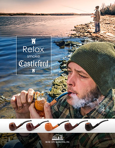 Ad for Castleford Pipes