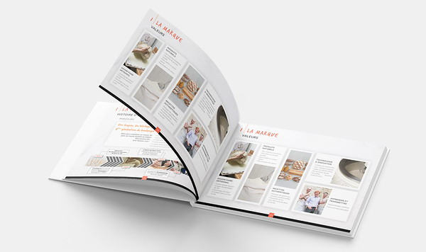 Compass Group's partnership with Eric Kayser presentation booklet