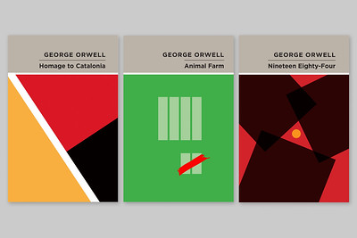 George Orwell Book Covers