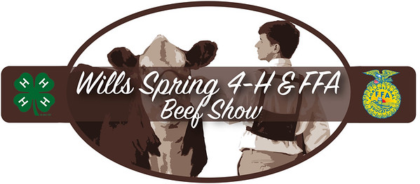 Wills Spring 4-H & FFA Logo brown