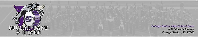 CSHS Band & Guard Website Header 10/19/2015