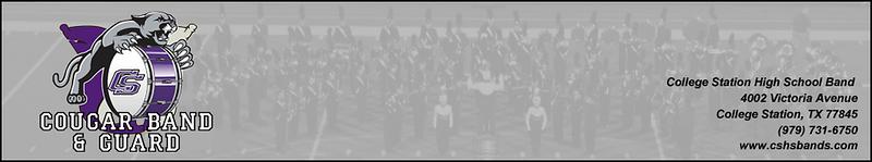 CSHS Band & Guard Website Header 03/09/2016