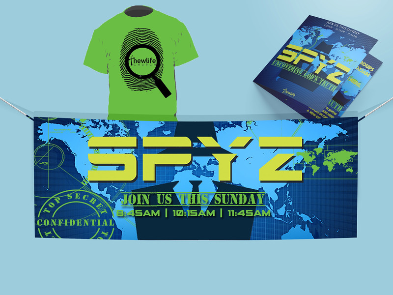 Spyz Series Branded Graphic Samples