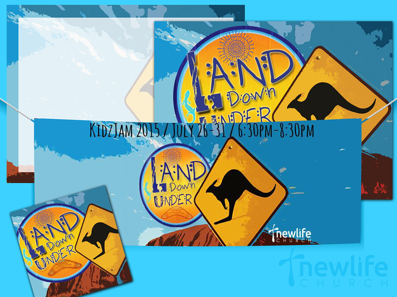 Land Down Under Kidzjam Series Graphic Samples