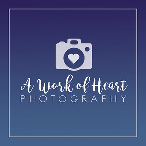 A Work of Heart Photography Logo