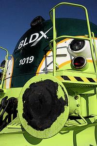 Diesel engine - locomotive