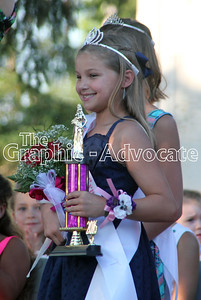 Brooke Evans was named the 2016 Little Miss at the Calhoun County Expo Wednesday. GRAPHIC-ADVOCATE PHOTO/ERIN SOMMERS