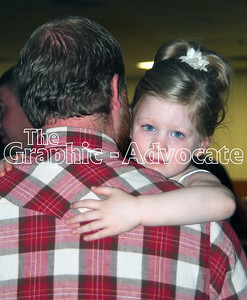 Victoria Parsons dances at the Boots and Belles Father/Daughter Dance Saturday night in Rockwell City. GRAPHIC-ADVOCATE PHOTO/ERIN SOMMERS