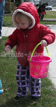 Sunny Knoll Care Center hosted its annual Easter egg hunt Friday afternoon in Rockwell City. GRAPHIC-ADVOCATE PHOTO/ERIN SOMMERS