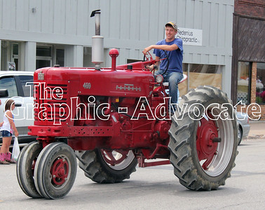 A tractor is part of the 2016 Western Days parade. GRAPHIC-ADVOCATE PHOTO/ERIN SOMMERS