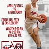 Eagle Basketball Argyle Eagles vs. Castleberry Friday Jan. 29th @ Castleberry Varsity-8:00 p.m. JV-5:00 p.m. 9th-6:30 p.m. (Tyler Castellanos|The Talon News)