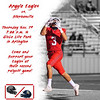 Argyle Eagles vs. Stephenville<br /> Thursday Nov. 19 7:00 p.m. @ Globe Life Park in Arlington  Come and support your Eagles at their second playoff game! (Tyler Castellanos|The Talon News)