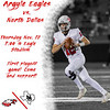 Argyle Eagles vs. North Dallas<br /> Thursday Nov.12 7:00 @ Eagle Stadium First playoff game! Come and support! (Tyler Castellanos|The Talon News)