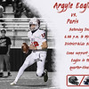 Argyle eagles vs. Paris<br /> Saturday Dec. 5 6:00 p.m. @ McKinney District-Wide Stadium Come and support your Eagles in the quarter-finals! (Tyler Castellanos|The Talon News)
