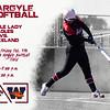 Argyle Softball Argyle Lady Eagles vs. Wakeland Friday Feb. 5th @ Argyle Softball Field Varisty-7:00 p.m. JV-5:00 p.m. p.m. (Tyler Castellanos|The Talon News)