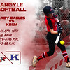 Argyle Softball Lady Eagles vs. Krum Friday Apr. 16th @ Krum Varsity-6:45 p.m. JV-5:00 p.m. (Tyler Castellanos|The Talon News)