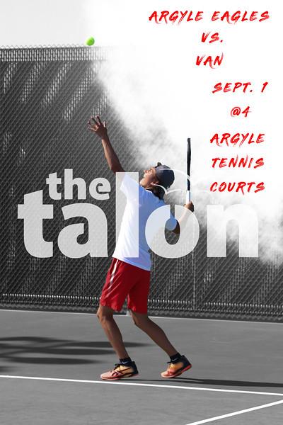 Argyle Eagles vs. Van<br /> Sept. 1 @ 4 Argyle Tennis Courts (Tyler Castellanos The Talon News)
