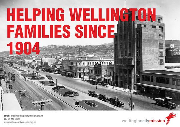 Wellington City Mission - Poster campaign