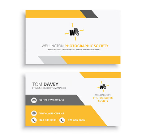 Wellington Photographic Society - Identity Cards