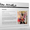 Piera M'arthur - Web Design