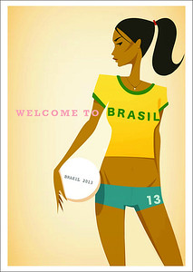 Welcome to Brazil - Event Flyer