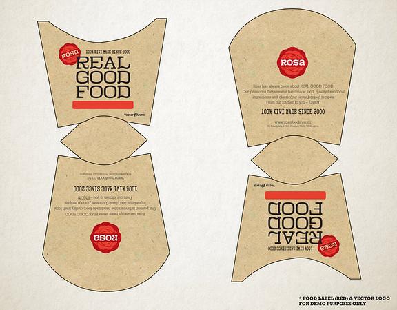 Rosa Foods - Carton Design