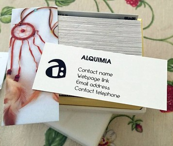Alquimia business cards