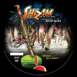 Shazam DVD Label3