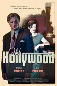 """Original Poster design for """"Old Hollywood"""""""