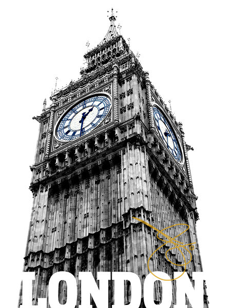 Big Ben. London 2008.<br /> © 2008 JOANNE MILNE SOSANGELIS. All rights reserved.