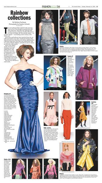 A look back at Fashion Week '04.