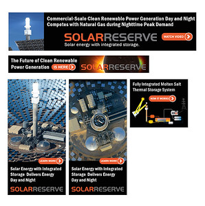 Web Banners Solar Thermal Energy