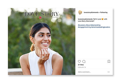 Social Media Campaign Jewelry Brand