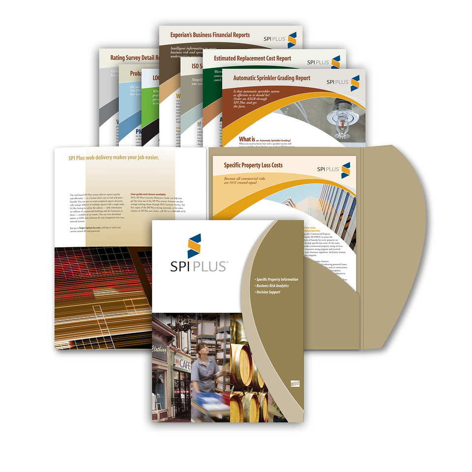 SPI PLUS Sales Support Folder with Inserts Insurance Industry