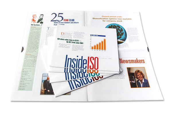Inside ISO, Employee Communications Newsletter
