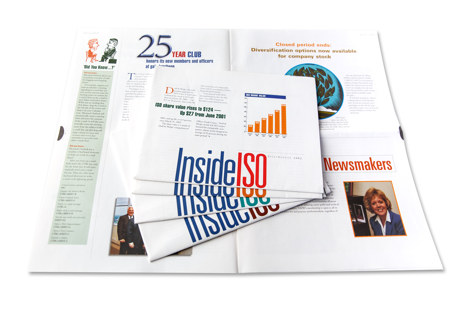 Inside ISO, Employee Communications Newsletter