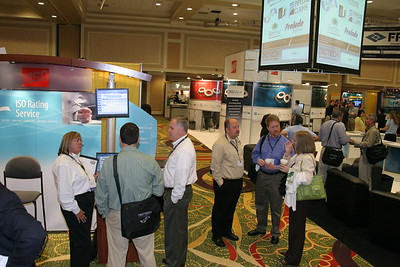 ISO Rating Service Booth, ISOTECH Conference