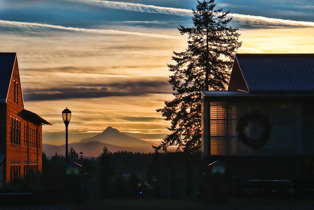 WSUV Mt Hood Sunrise