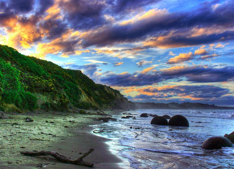 Moeraki Boulder, New Zealand