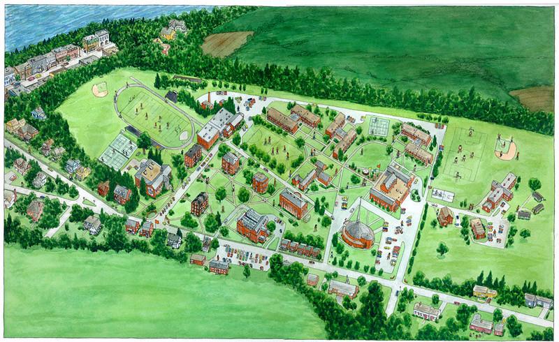 Susquehanna Campus Map.Campus Maps Videoboss
