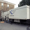 The video editing and transmission truck we used for the big event.
